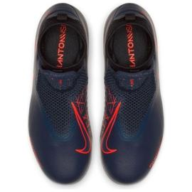 Chaussures Nike Phantom Academy Df Fg Jr AO3287-440 bleu marine 2