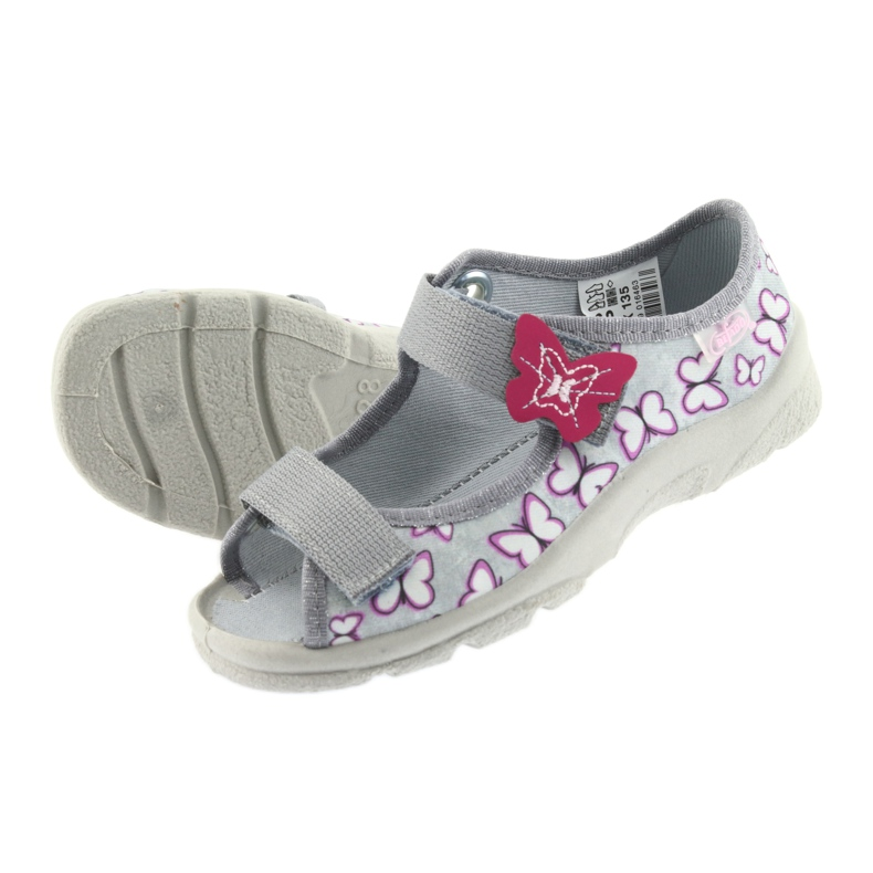 Befado sandales enfants papillons 969X135 image 4