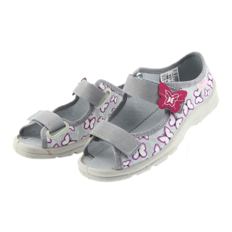 Befado sandales enfants papillons 969X135 image 3