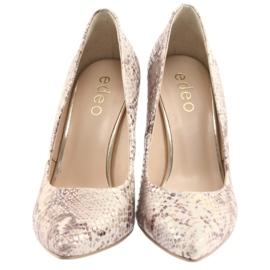 Chaussures femme Edeo 3313 peau de serpent 5