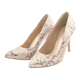 Chaussures femme Edeo 3313 peau de serpent 3