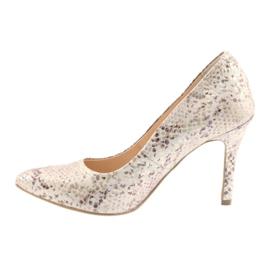 Chaussures femme Edeo 3313 peau de serpent 2