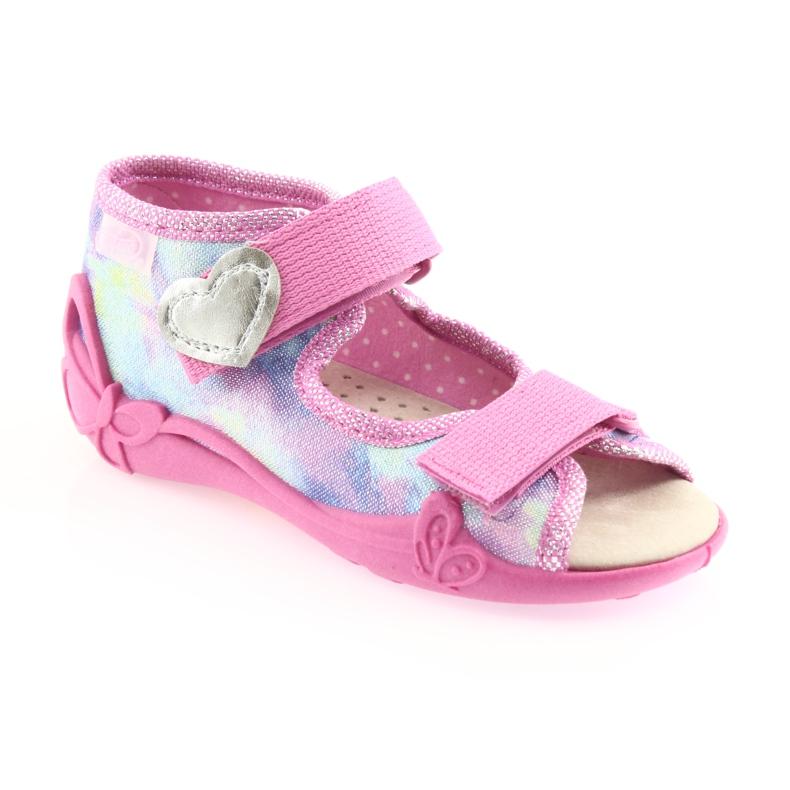 Chaussures enfant jaune Befado 342P005 image 2