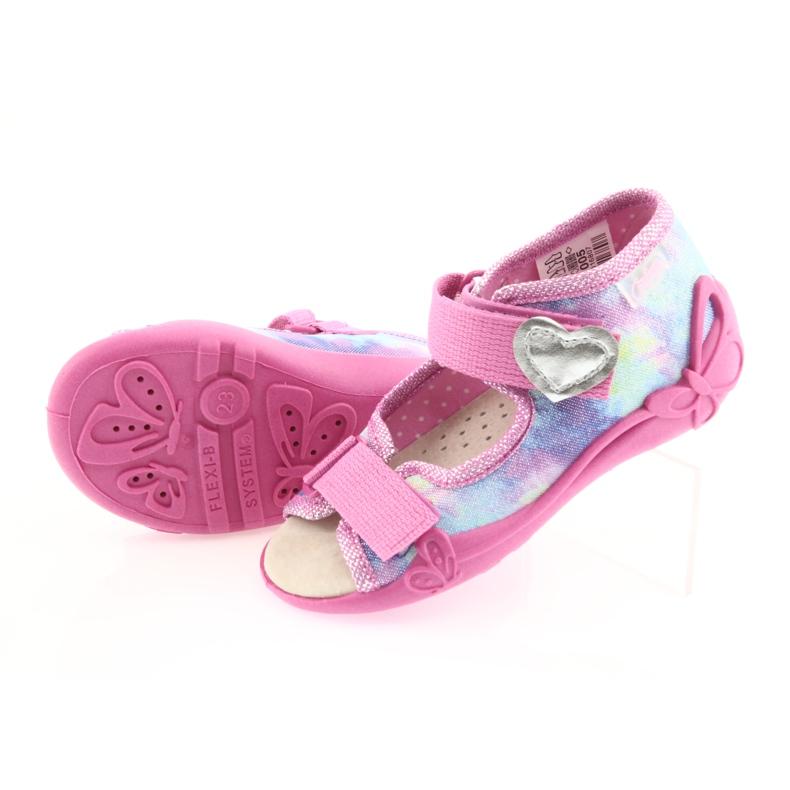Chaussures enfant jaune Befado 342P005 image 6