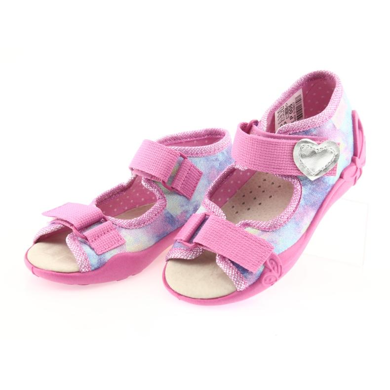 Chaussures enfant jaune Befado 342P005 image 4