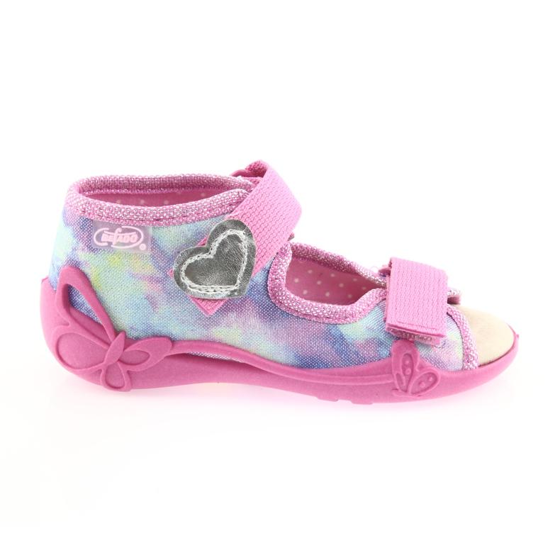 Chaussures enfant jaune Befado 342P005 image 1