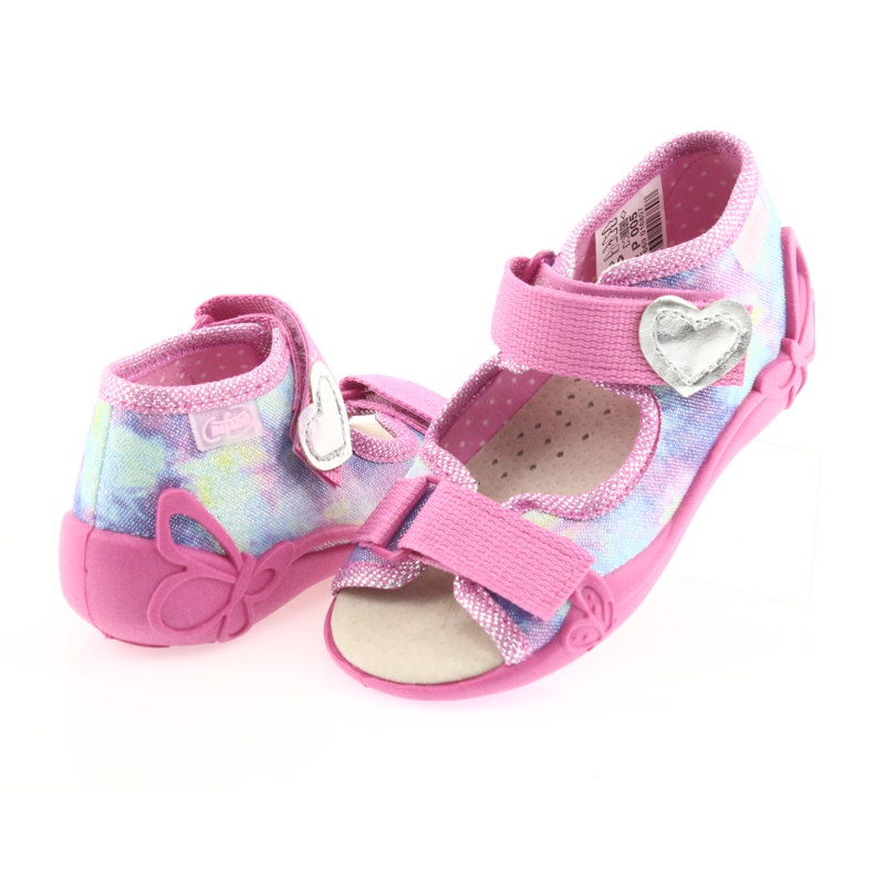 Chaussures enfant jaune Befado 342P005 image 5