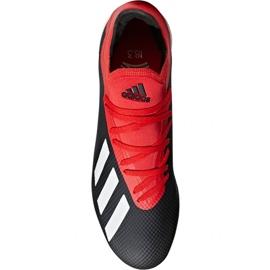 Chaussures de foot adidas X 18.3 Tf M BB9398 noir noir 1