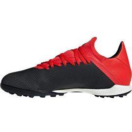 Chaussures de foot adidas X 18.3 Tf M BB9398 noir noir 2