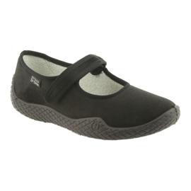 Befado chaussures pour femmes - jeune 197D002 noir 2