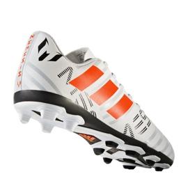 Chaussures de foot adidas Nemeziz Messi 17.4 FxG Jr S77200 blanc 2