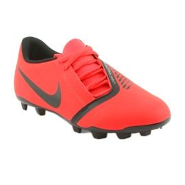 Chaussures de football Nike Phantom Venom Club Fg Jr AO0396-600 rouge 1