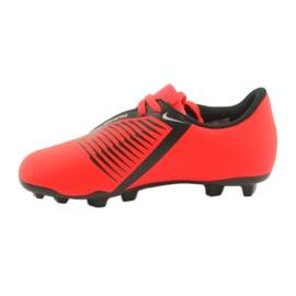 Chaussures de football Nike Phantom Venom Club Fg Jr AO0396-600 rouge 2