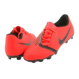 Chaussures de football Nike Phantom Venom Club Fg Jr AO0396-600 rouge 4