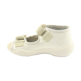 Chaussures enfant jaune Befado 342P003 3