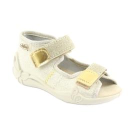 Chaussures enfant jaune Befado 342P003 2