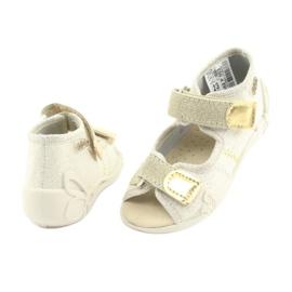 Chaussures enfant jaune Befado 342P003 4