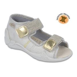 Chaussures enfant jaune Befado 342P003 1