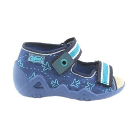 Chaussures enfant jaune Befado 350P004 1
