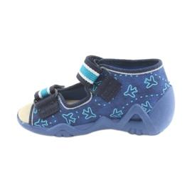 Chaussures enfant jaune Befado 350P004 3
