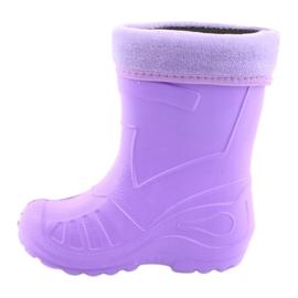 Befado chaussures pour enfants galosh - violet 162P102 pourpre 3