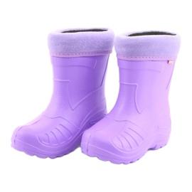 Befado chaussures pour enfants kalosz-fiolet 162X102 pourpre 4