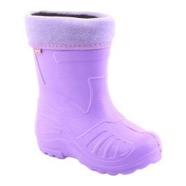 Befado chaussures pour enfants kalosz-fiolet 162X102 pourpre 2