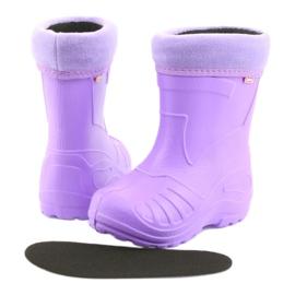Befado chaussures pour enfants kalosz-fiolet 162X102 pourpre 5