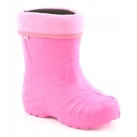 Befado chaussures pour enfants kalosz- róż 162X101 rose 2