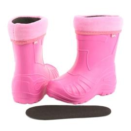 Befado chaussures pour enfants kalosz- róż 162X101 rose 5