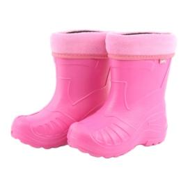 Befado chaussures pour enfants kalosz-róż 162Y101 rose 4