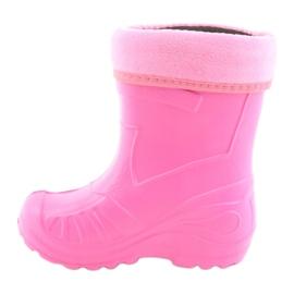 Befado chaussures pour enfants kalosz-róż 162Y101 rose 3