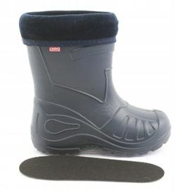 Befado chaussures pour enfants kalosz- grenat 162P103 marine 6