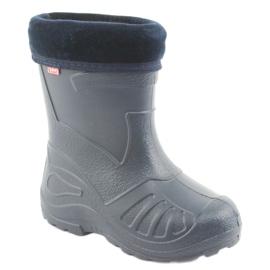 Befado chaussures pour enfants kalosz- grenat 162P103 marine 2