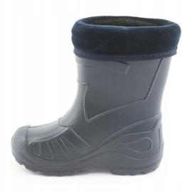 Befado chaussures pour enfants kalosz- grenat 162P103 marine 3