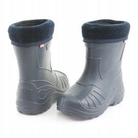 Befado chaussures pour enfants kalosz- grenat 162P103 marine 5