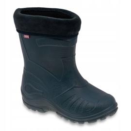 Befado chaussures pour enfants kalosz- grenat 162P103 marine 1