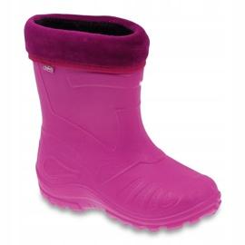 Befado chaussures pour enfants kalosz- róż 162X101 rose 1