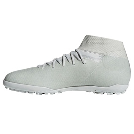 Chaussures de football Adidas Nemeziz Tango 18.3 Tf M DB2212 blanc blanc 1