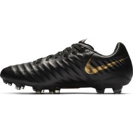 Chaussures de football Nike Tiempo Legend 7 Pro Fg M AH7241-077 noir noir 1