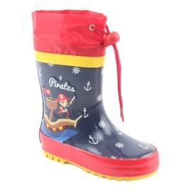 American Club Bottes de pluie pour enfants américains Pirate 1