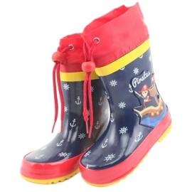 American Club Bottes de pluie pour enfants américains Pirate 3