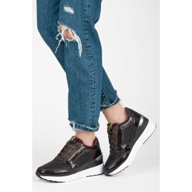 Kylie Chaussures de sport sur le coin multicolore 3
