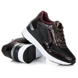 Kylie Chaussures de sport sur le coin multicolore 2