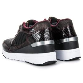 Kylie Chaussures de sport sur le coin multicolore 1
