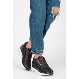 Kylie Chaussures de sport sur le coin multicolore 4