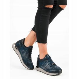 Kylie Chaussures de sport à la mode bleu 6