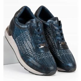 Kylie Chaussures de sport à la mode bleu 1