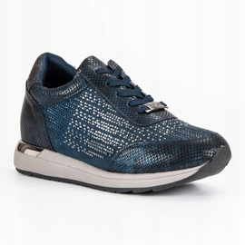 Kylie Chaussures de sport à la mode bleu 3