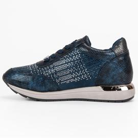 Kylie Chaussures de sport à la mode bleu 4